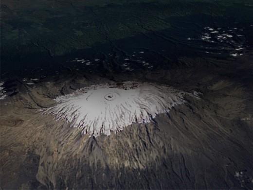 Mt. Kilimanjaro, Tanzania, February 1993.
