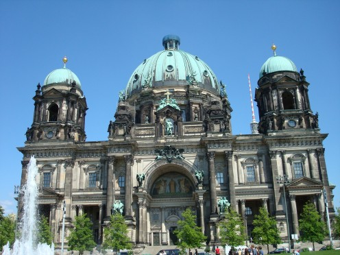 Berlin dome- Several of the German kings are buried here. There is a chapel and a museum inside.