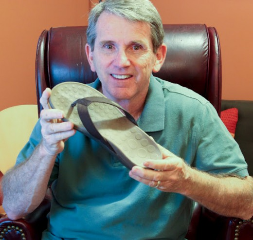 Plantar fasciitis shoes can even include flip flops... if they are made correctly