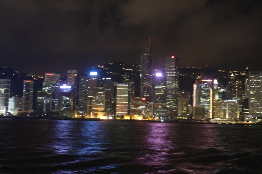 Hong Kong from the Star Ferry