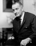 President Lyndon Baines Johnson (LBJ), architect of The Great Society, which included the Pell Grant program.