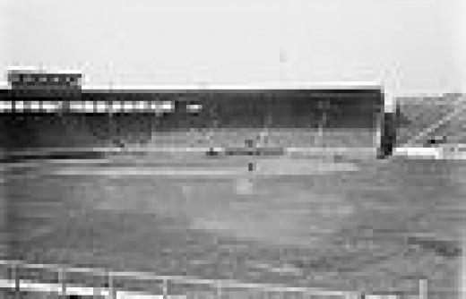 Fenway Park in Ruth's rookie season 1914