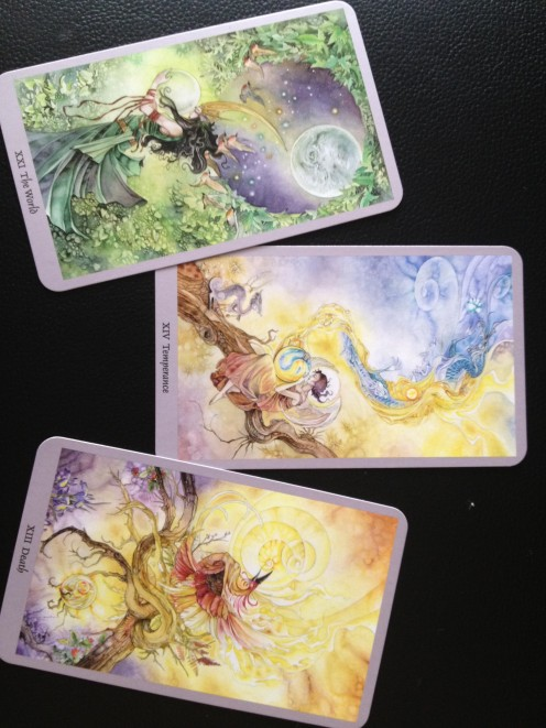 Lee Hine's Shadowscapes Tarot