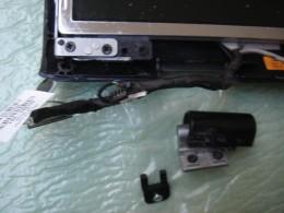 Broken hinge before replacement