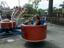 Getting dizzy on the Scrambler!