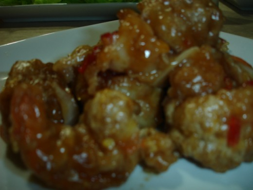PF Changs Honey Shrimp recipe