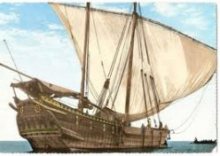 Dhows or Junk Boats of Medieval Times