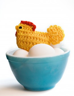 CROCHETED CHICKEN by Dkapp12