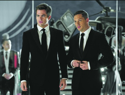 """Does anyone else think of the """"Men in Black"""" when looking at this photo?"""