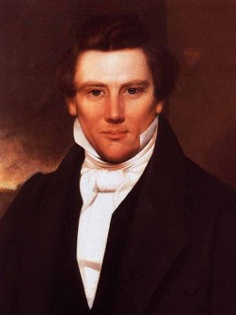 Mormon founder Joseph Smith