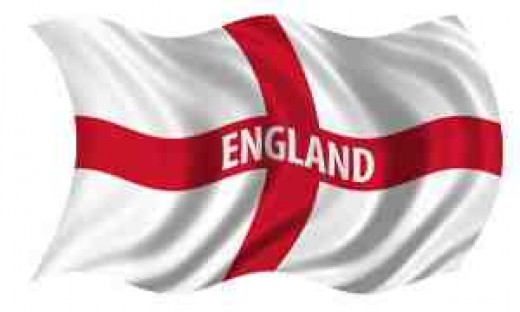 The English Flag Public Domain