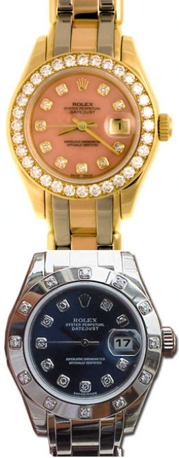 Rolex Lady date Pearl Master