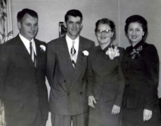 My Mom and Dad were Matron of Honor and Best Man at Uncle Lionel and Aunt Al's wedding