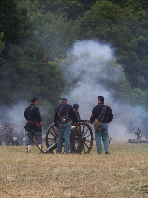 Experiencing the Civil War - Live! Duncan Mills, California