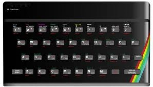 Rubber Keys and 48K Is All You Need To Play. The Original ZX Spectrum
