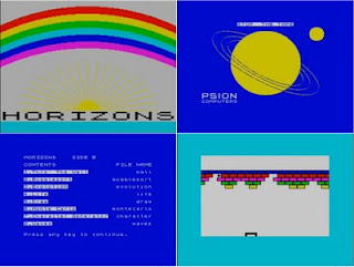 You Were Now In The Space Age As You Explored The ZX Spectrum With Horizons