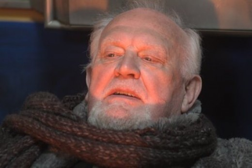 Joss Ackland as Tolstoy