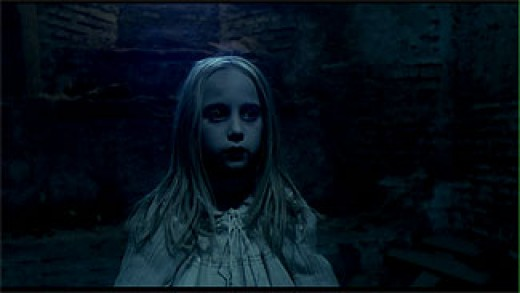 The Ghostly Little Girl