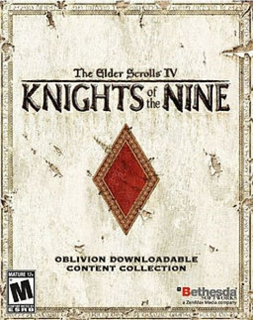 The Knights of the Nine US cover, for PC/Mac