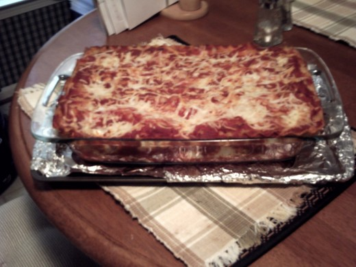 4.  The ultimate Lasagne