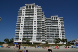 Our family recently stayed at the Seawatch Plantation in Myrtle Beach, which offers condo units for rent.