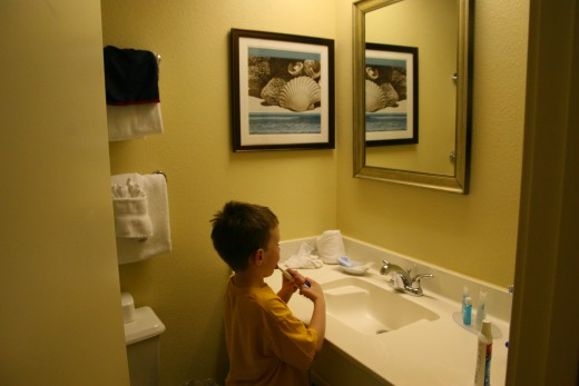 Condo units offer families more space - our boys had their own bedroom and bathroom on our recent trip to Myrtle Beach
