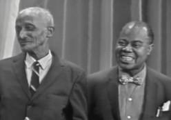 Louis Armstrong and Peter Davis