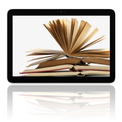 Read from a traditional book or e-book.