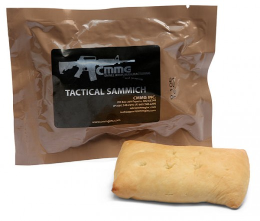 Tactical Sammich: When you've prepared for everything, except lunch.