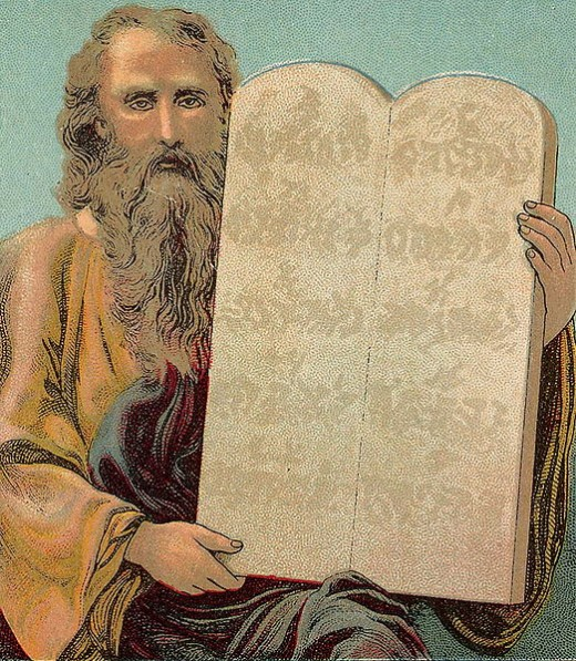 Do modern societies get their moral codes from the Bible? The Ten Commandments, until recent times, were displayed in many courthouses and are still visible at the United States Supreme Court.