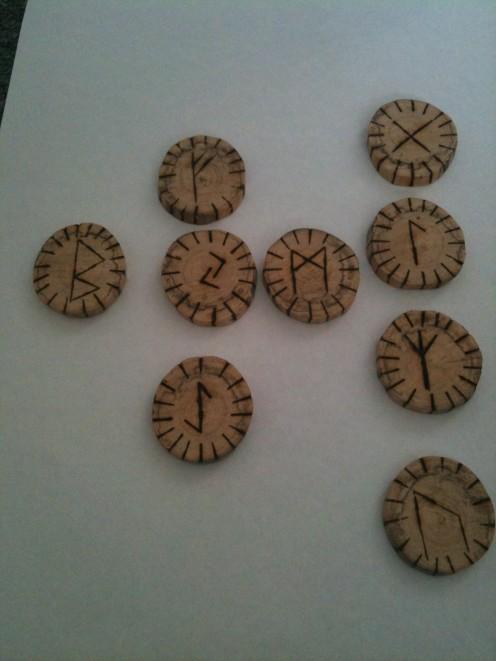 Gary Holdaway's Homemade Runes