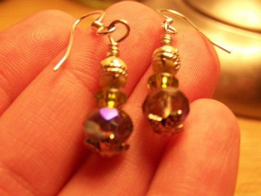 I have been known to make earrings at times.