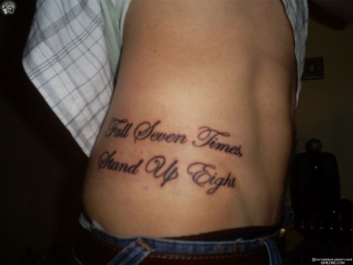 Tattoo Ideas: Quotes on Strength, Adversity, Courage 91