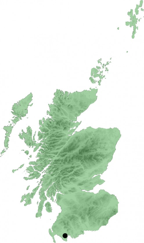 Map location of Wigtown, Scotland
