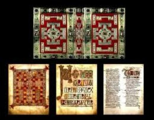 Lindisfarne Gospela