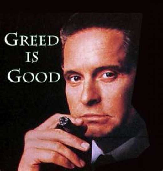 Is Greed Good?  For Whom?