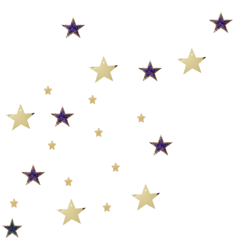 Use this star scatter to brighten up your layout.