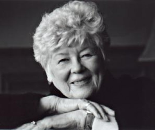 A picture of author Dorothy Dunnett, whose books brought so much pleasure to my life, my mum's, my grandmothers, and so many people across the globe.