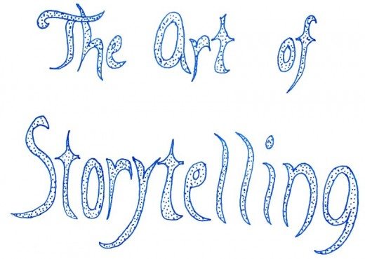 Storytelling is indeed a form of art.
