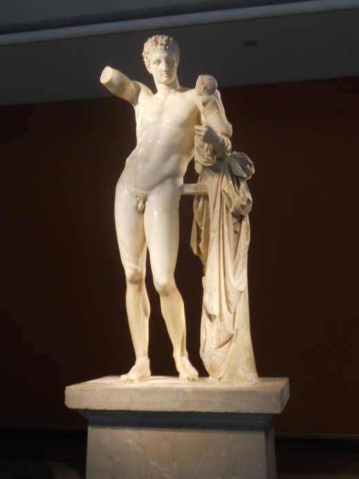 Hermes with Baby Dionysus