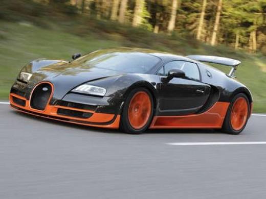 5. Bugatti Veyron Supersport