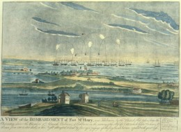 Battle of Fort McHenry, the inspiration for the American National Anthem, The Star Spangled Banner