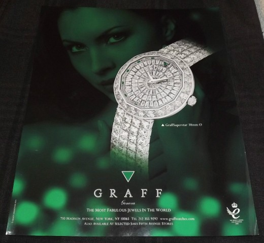 2011 Graff Watch Ad