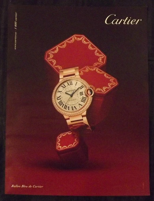 2010 Cartier Watch Ad