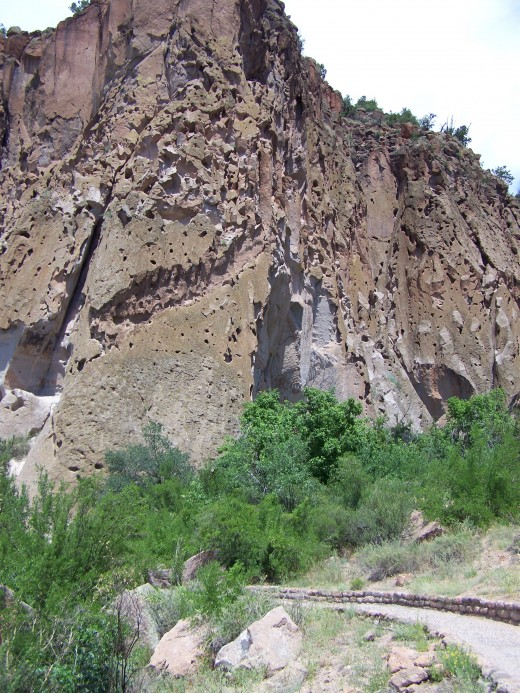 Although it is beautiful, Bandelier National Monument is one of the places I experienced heat exhaustion.