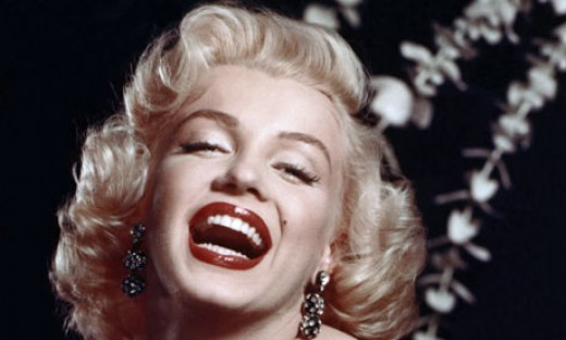 Marilyn Monroe is the all-time version of every man's exotic dream. Her smile never hurt.