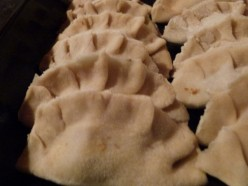 Delicious homemade Chinese dumplings