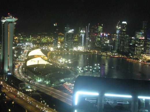 Views from the Singapore Flyer