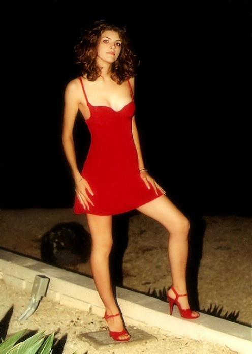 THE LADY IN RED. NEVER MINE TO LOVE.
