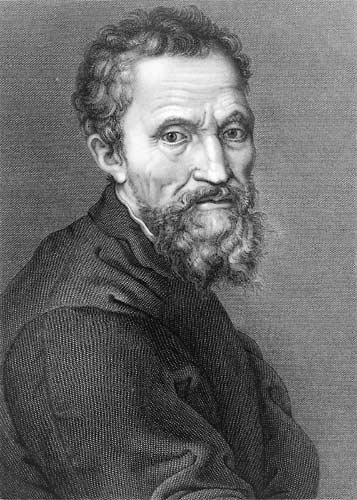 Michelangelo Buonarotti -architect, sculptor, painter, poet, writer